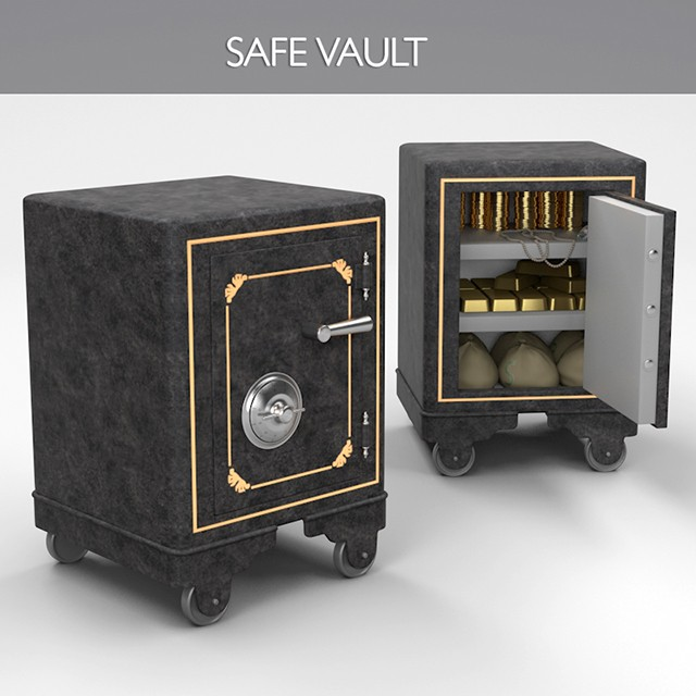 3 ... & Suggestion] Armored Safe Storage Box - Rust General - Rust