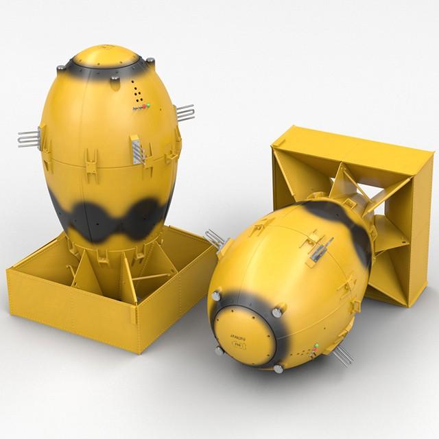 Fat Boy Nuclear Bomb