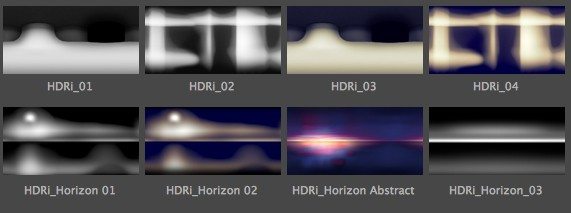 HDRs & Realistic Studio LIghting for Cinema 4D azcodes.com