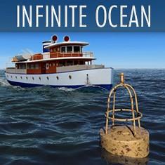 Infinite Ocean landscape generator plugin by C4Depot