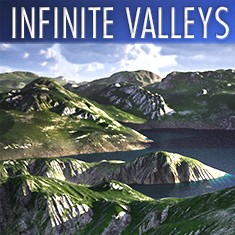 Infinite Valleys by C4Depot