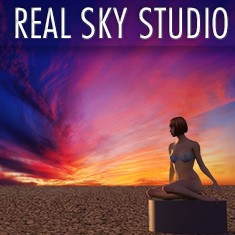 Real Sky Studio; 3D sky kit for Cinmea 4D