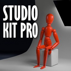 Studio Kit Pro; lighting rig for Cinema 4D