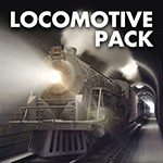 3D Locomotive Model Pack