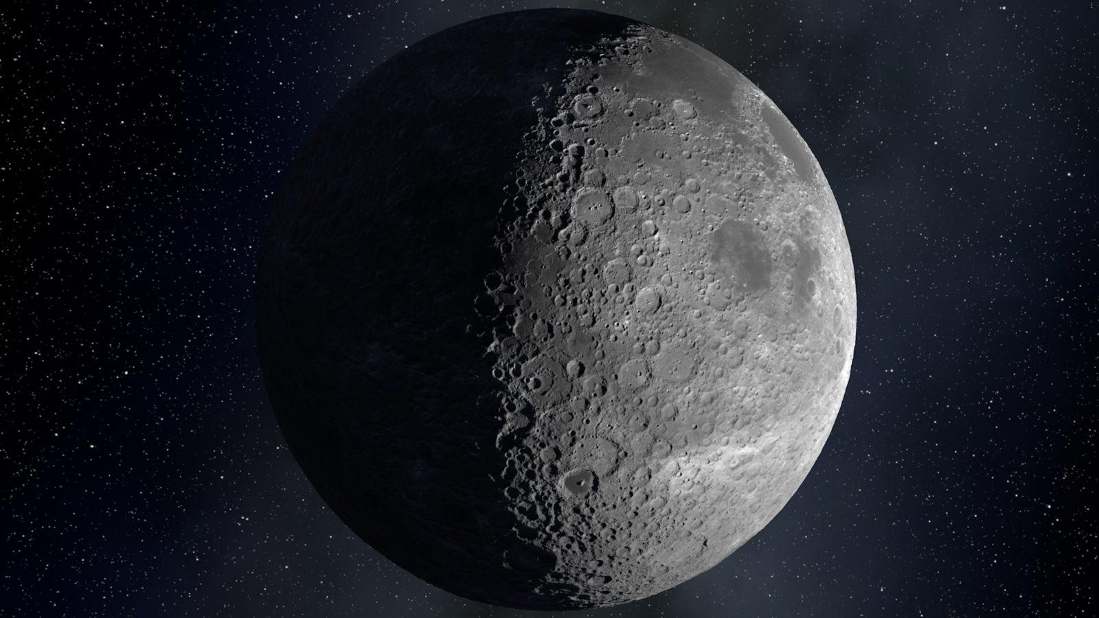 Real Moon far shot