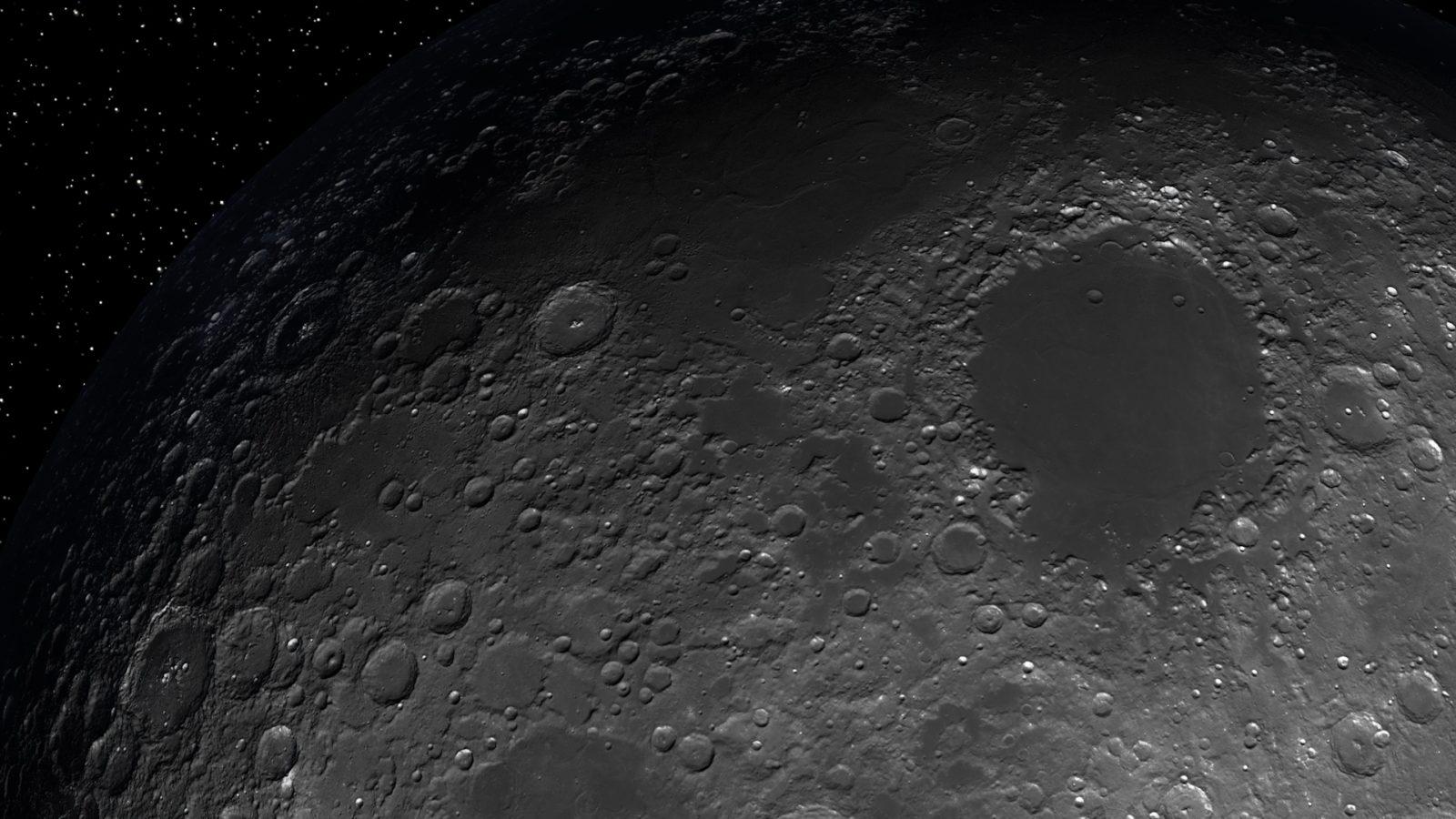 Real Moon orbit level