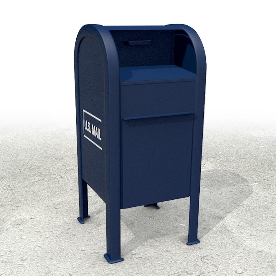US Mail drop box
