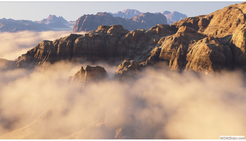 canyon clouds
