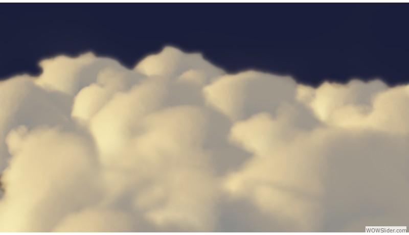 closeup clouds